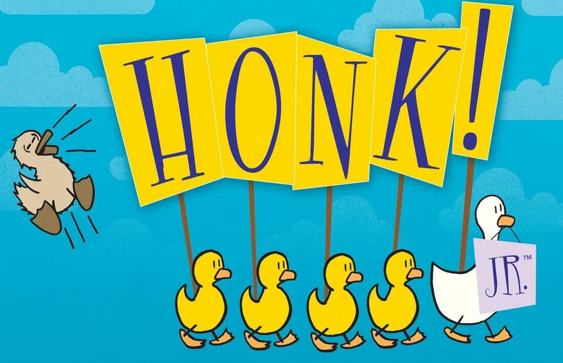 Drama: Honk! Jr. illustration